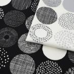 シンプルランド 北欧調サークル オックス 1m単位 切売り 生地 布 布地 綿 コットン 綿100 北欧柄 北欧