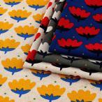 LE DEPART トゥリッパ 綿麻キャンバス (1m単位)|切売り 生地 布 布地 コットンリネン 綿麻混生地 キャンバス 北欧 花柄 ルデパール