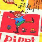 長靴下のピッピ オックスキルト (50cm単位)|切売り 生地 布 布地 綿 コットン キルティング ピッピ キャラ