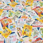 ディズニーピクサー トイ・ストーリー4 オックスキルト (50cm単位) 切売り 切り売り 生地 布地 綿100 コットン DisneyPixer