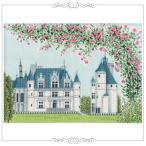 刺繍 キット オリムパス 越智通子 世界遺産と世界の風景から フランス シュノンソー