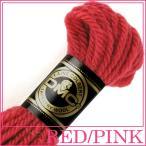 刺繍 刺しゅう糸 DMC 4番 レッド・ピンク系 タペストリーウール 7758|ししゅう糸|刺繍糸|ウール糸|タペストリー糸|ニードルポイント|