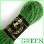 刺繍 刺しゅう糸 DMC 4番 グリーン系 タペストリーウール|期間限定SALE|