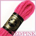 刺繍 刺しゅう糸 DMC 4番 レッド・ピンク系 タペストリーウール 7603|ししゅう糸|刺繍糸|ウール糸|タペストリー糸|ニードルポイント|