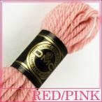 刺繍 刺しゅう糸 DMC 4番 レッド・ピンク系 タペストリーウール 7221|ししゅう糸|刺繍糸|ウール糸|タペストリー糸|ニードルポイント|