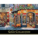 刺繍 輸入キット Dimensions ゴールドコレクション 風景 European Bistro