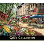 刺繍 輸入キット Dimensions ゴールドコレクション 風景 Paris Market