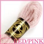 刺繍 刺しゅう糸 DMC 4番 レッド・ピンク系 タペストリーウール 7260|ししゅう糸|刺繍糸|ウール糸|タペストリー糸|ニードルポイント|