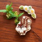 刺繍 キット piece Chicchiさんの動物刺しゅうキット ブローチ りすさんとカモミール
