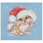 刺繍 輸入キット ALISA(アリサ) Little and Cute Winter bunny