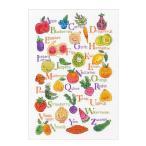刺繍 Dimensions Fruits amp Veggies アルファベットサンプラー かわいい