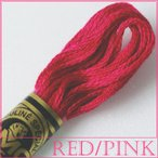 刺繍 刺しゅう糸 DMC 25番 レッド・ピンク系 4