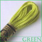 刺繍 刺しゅう糸 DMC 25番 グリーン系 5|期間限定SALE|