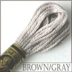 刺繍 刺しゅう糸 DMC 25番 ブラウン・グレー系 1|期間限定SALE|
