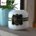 ウイスター レース糸 白 #40/50g|毛糸 編み物 ハンドメイド 手芸 トーカイ | ウイスター春夏セール |