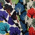 綿麻 キャンバス 生地 (50cm単位) う早この布 なんの樹 UP5750(M) 布 生地 コットンこばやし COTTONこばやし