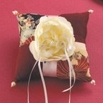 和風リングピロー(手作りキット)和モダン 菊