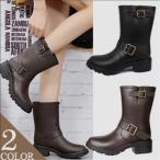 レディースレインブーツ/レインシューズ 晴雨兼用 梅雨 長靴 雨靴 防水 ラバーブーツ ショート丈