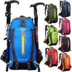 リュック 登山リュックサック メンズ バックパック 40L大容量 デイパック スポーツ 旅行 アウトドア ナイロン バッグ 鞄 ハイキング 軽量 人気