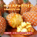 沖縄県産スナックパイン(ボゴ−ル種)3玉〜5玉(2.8Kg以上)ちぎって食べるパイン【送料無料】