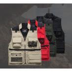 カメラマン ベスト メンズ アウトドアウェア メイクベスト 釣り 登山服 作業服 ミリタリー 多機能 メッシュ