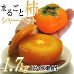 柿 シャーベット 山形産 まるごと柿シャーベット 1.7kg アイス フルーツ