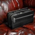 セカンドバッグ メンズ ダブルファスナー ブランド【送料無料】MACLAREN.co-マクラーレン- ダブルファスナー式セカンドバッグ