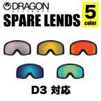 DRAGON ドラゴン スペアレンズ D3 LENS ディースリー レンズ JAPAN LUMALENS ジャパン ルーマレンズ