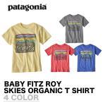 ショッピングpatagonia PATAGONIA パタゴニア キッズ BABY FITZ ROY SKIES COTTOM/POLY T-SHIRT ベビー フィッツロイ スカイズ