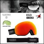 ELECTRIC ゴーグル エレクトリック 14-15 EG3 各15色 スペアレンズ付き アジアンフィット ジャパンフィット 日本正規品 球面レンズ