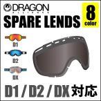 DRAGON ドラゴン ゴーグル D1 D2 DX 対応 スペアレンズ