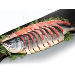 送料無料 時鮭姿切り身 1尾 2Kg 北海道産 甘塩トキシラズ 7月上旬出荷開始
