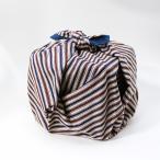 風呂敷 重箱 縞 エンジ いせ辰 90cm 綿100% 日本製 ふろしき 国産 江戸千代紙 大判 バック 和柄