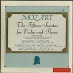 モーツァルト:ヴァイオリン・ソナタ集(15曲)/K.296,301〜6,376〜80,454,481,526
