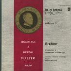 ブラームス:交響曲2番Op.73,大学祝典序曲Op.80/B.ワルター指揮コロンビアso./欧PHILIPS:835 556 AY