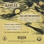 <中古クラシックLPレコード>マーラー:大地の歌/K.フェリアー(ca)B.ワルター指揮ウィーンpo./英DECCA:LXT 2721-2