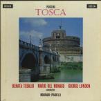 プッチーニ:「トスカ」(全曲)/F.モリナーリ・プラデッリ指揮聖チェチーリア音楽院o./英DECCA:SXL 2180-1