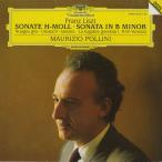 <中古クラシックLPレコード>リスト:ピアノ・ソナタ,灰色の雲,不運,悲しみのゴンドラ,リヒャルト・ワーグナー/M.ポリーニ(pf)/独DGG:427 3221