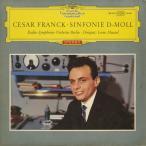 <中古クラシックLPレコード>フランク:交響曲/L.マゼール指揮ベルリン放送so./独DGG:138 693 SLPM