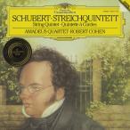 <中古クラシックLPレコード>シューベルト:弦楽五重奏Op.post.163/アマデウスQt. R.コーエン(vc)/独DGG:419 6111