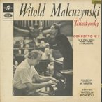 チャイコフスキー:ピアノ協奏曲1番Op.23/W.マルクジンスキ(pf)W.ロヴィツキ指揮ワルシャワ国立po./仏COLUMBIA:SAXF 1035