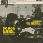 チャイコフスキー:ピアノ協奏曲1番Op.23,フランク:交響的変奏曲/J.オグドン(pf)J.バルビローリ指揮フィルハーモニアo.