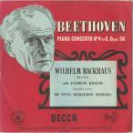 ベートーヴェン:ピアノ協奏曲4番Op.58/W.バックハウス(pf)C.クラウス指揮ウィーンpo./英DECCA:LXT 2629