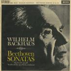 ベートーヴェン:ピアノ・ソナタ15番Op.28「田園」,26番Op.81a「告別」/W.バックハウス(pf)/英DECCA:SWL 8018