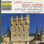 <中古クラシックLPレコード>ラロ:スペイン交響曲,サン・サーンス,他/A.グリュミオー(vn)M.ロザンタール指揮コンセール・ラムルーo.