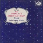 モーツァルト:交響曲32番K.318,38番「プラハ」K.504/P.マーク指揮ロンドンso./英DECCA:LXT 5518