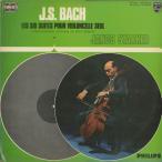 バッハ:無伴奏チェロ組曲(全6曲)/J.シュタルケル(vc)/欧PHILIPS:820 008-9 DTY