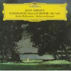 <中古クラシックLPレコード>シベリウス:交響曲6番Op.104,7番Op.105/H.v.カラヤン指揮ベルリンpo./英DGG:139 032