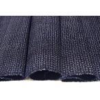 綿 正藍染め・亀甲の絣(かすり)(シルク 和柄 和風 衣装 生地 着物 はぎれ)