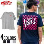 """Tシャツ メンズ 半袖""""VANS【バンズ】Checker Back S/S T-Shirts/全4色""""2017春夏新作 VANS バンズ ヴァンズ OFF THE WALL オールドスクール"""